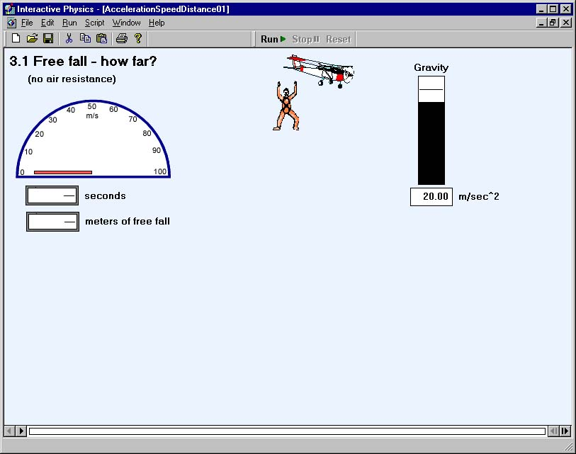 Interactive Physics - Physics Simulation Software for the