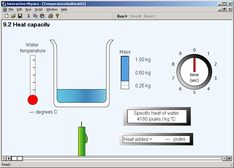 Interactive Physics Physics Simulation Software For The