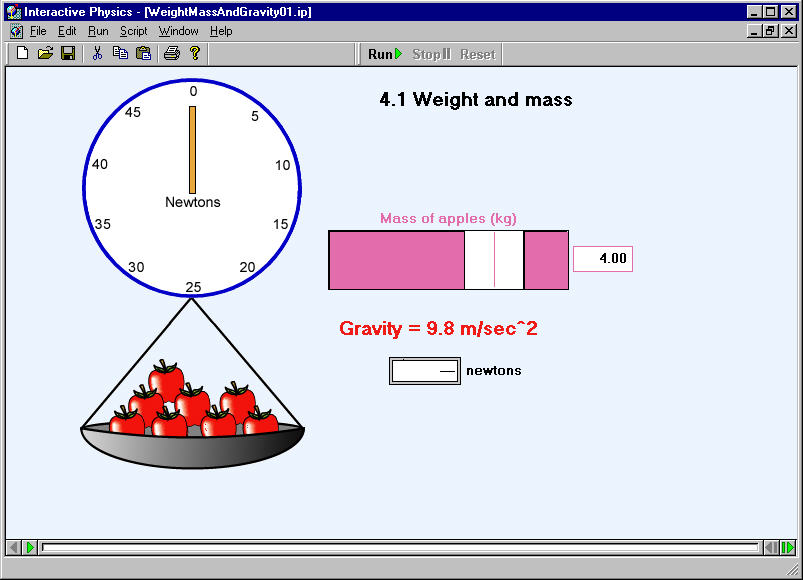 Weight Mass And Gravity